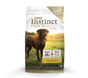 Instinct Raw Boost Dog Food by Nature's Variety