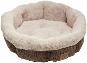 Precision Shearling Dog Bed